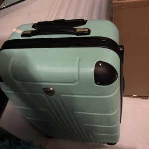 Trolley travelcase in green